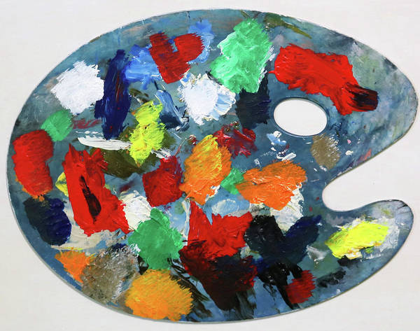 Painting - The Artists Palette by Deborah Boyd