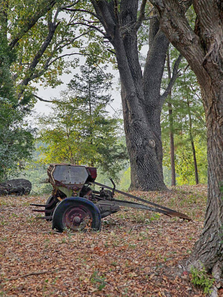 Photograph - Retired Seeder by Charles McKelroy