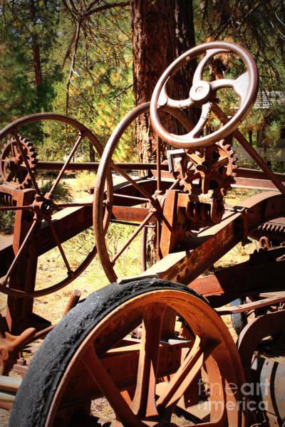 Photograph - Retired Wheels by Carol Groenen