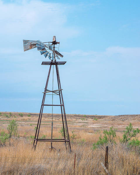 Photograph - Retired Windmill by Adam Reinhart
