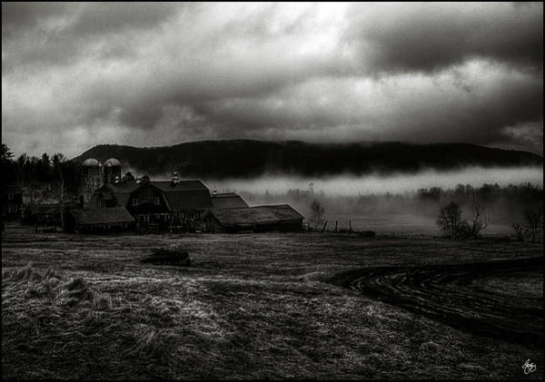 Photograph - Retreat Of The Storm Sugar Hill New Hampshire by Wayne King