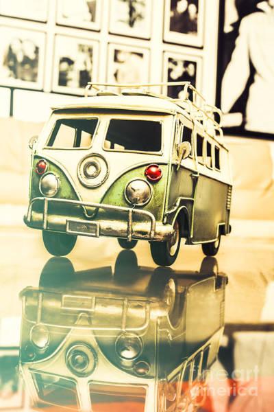 Volkswagen Camper Photograph - Retro 60s Toy Van by Jorgo Photography - Wall Art Gallery
