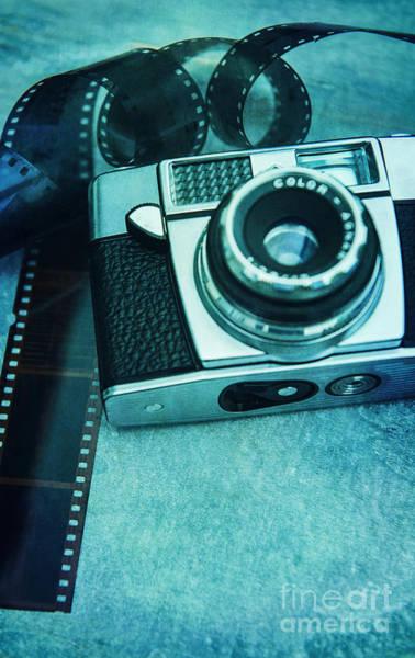 Photograph - Retro Camera by David Lichtneker