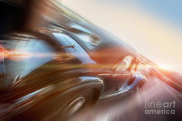Photograph - Retro Car by Ariadna De Raadt