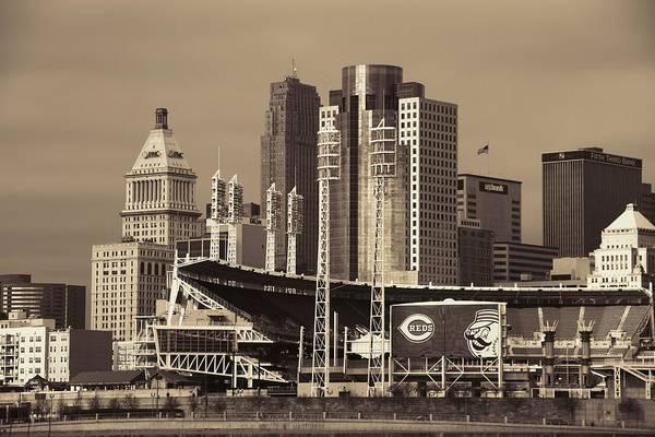 Photograph - Retro Cincinnati Ohio by Dan Sproul