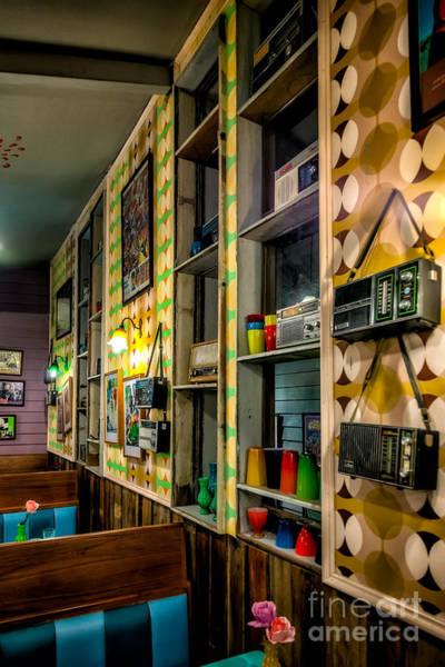 Wall Art - Photograph - Retro Coffee Shop by Adrian Evans