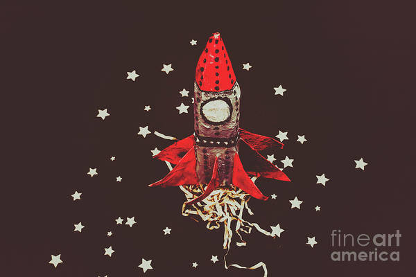 Spacecraft Wall Art - Photograph - Retro Cosmic Adventure by Jorgo Photography - Wall Art Gallery