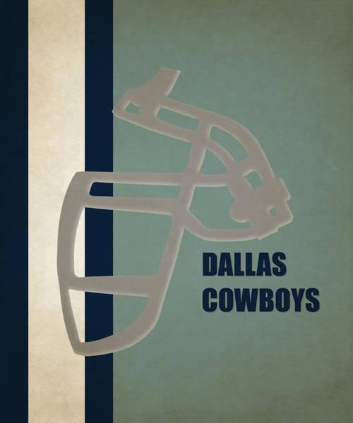 Dallas Cowboys Photograph - Retro Cowboys Art by Joe Hamilton