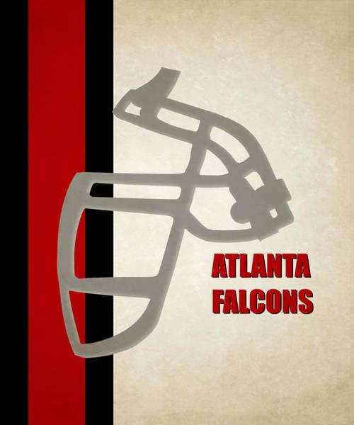 Falcons Photograph - Retro Falcons Art by Joe Hamilton