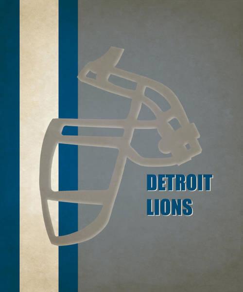 Detroit Lions Photograph - Retro Lions Art by Joe Hamilton