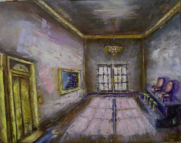 Stephen King Painting - Retro Lobby by Stephen King
