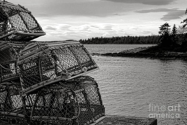 Wall Art - Photograph - Retro Maine Scene  by Olivier Le Queinec