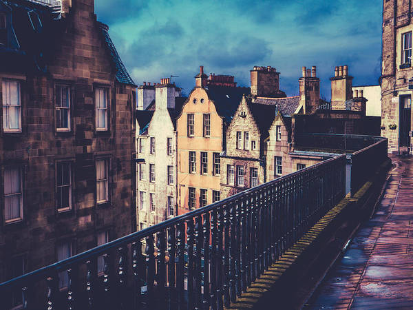Wall Art - Photograph - Old Town Edinburgh Buildings by Mr Doomits