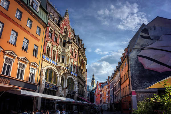 Nouveau Photograph - Retro Riga by Carol Japp