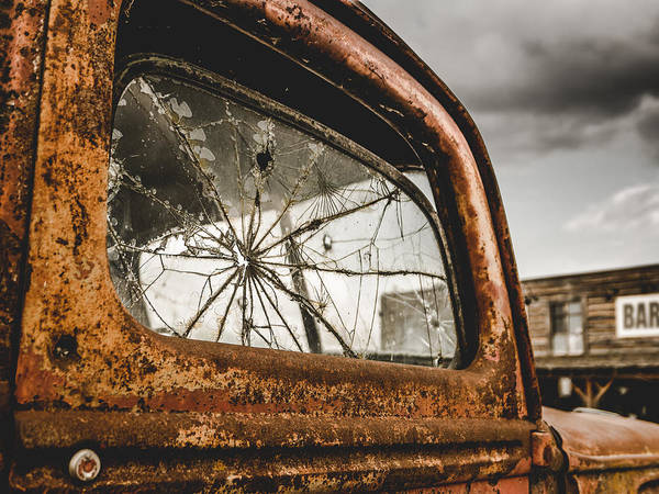 Wall Art - Photograph - Retro Rusty Truck And Bar by Mr Doomits