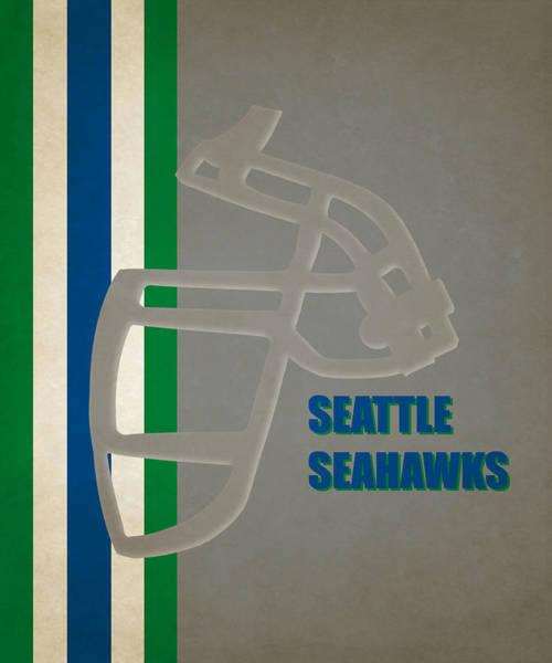 Seattle Seahawks Wall Art - Photograph - Retro Seahawks Art by Joe Hamilton