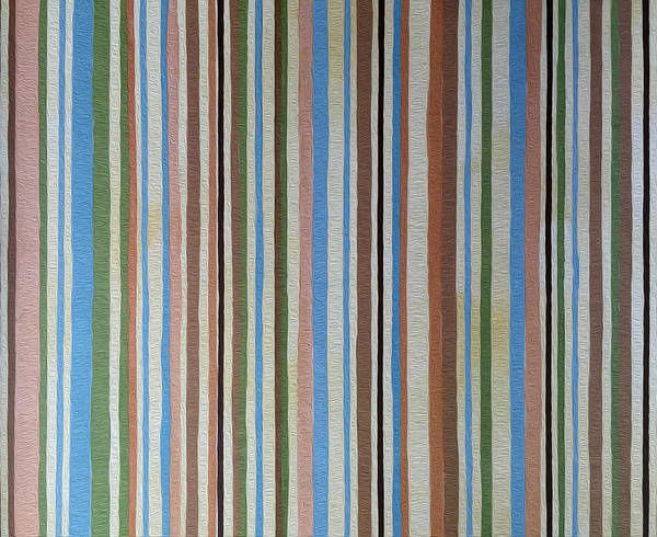 Painting - Retro Stripes by Portraits By NC