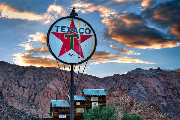 Photograph - Retro Texaco by Renee Sullivan