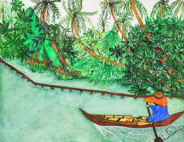 Painting - Return From Damnoen Saduak by Dee Browning