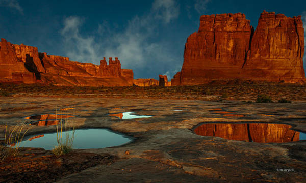 Photograph - Return To Arches by Tim Bryan