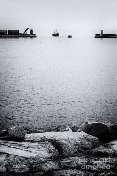 Souse Photograph - Return To Port by Samir Taher