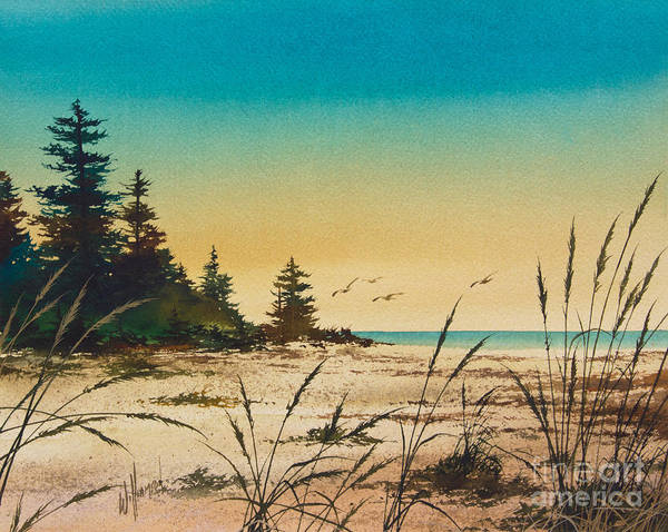 Lake Superior Painting - Return To The Shore by James Williamson