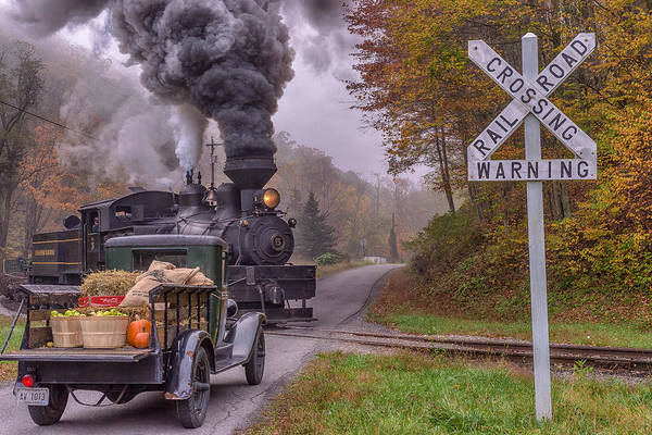 Cass Wall Art - Photograph - Returning From Town  by Mike Yeatts