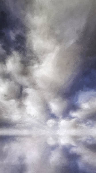Cloud Digital Art - Reverence by Scott Norris