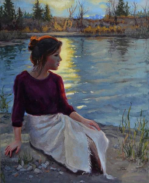 Painting - Reverie by Jan Christiansen