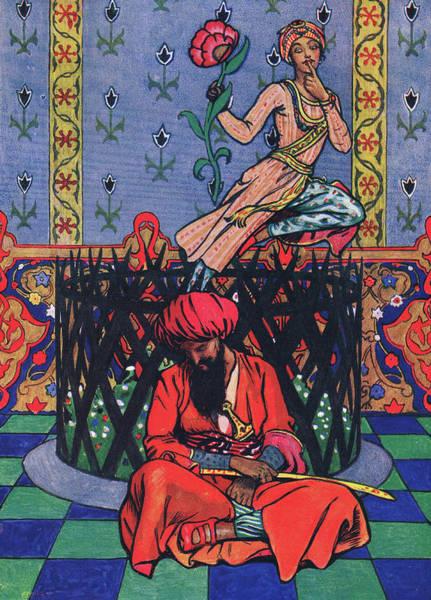 Man Of God Wall Art - Painting - Reverie Of Ormuz The Persian by John Byam Liston Shaw