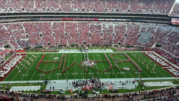 Photograph - Reverse Bama Spell-out by Kenny Glover