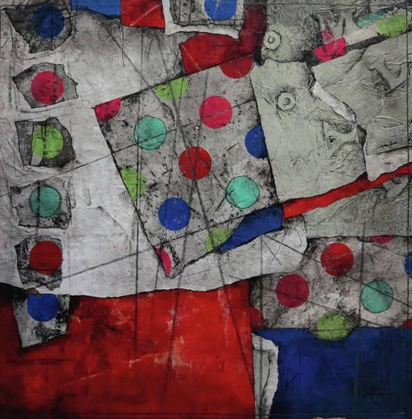 Pokes Wall Art - Mixed Media - Revert To Happy  by Laura Lein-Svencner
