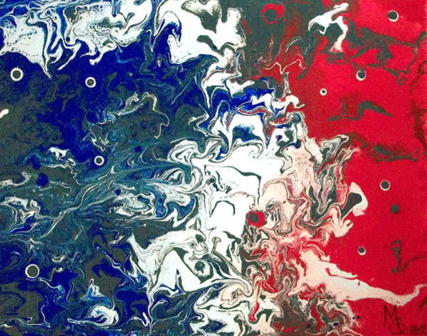 Start Over Painting - Revolution by Absinthe Art By Michelle LeAnn Scott