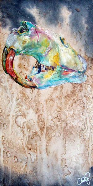 Painting - Revolution Beaver by Christy Freeman Stark