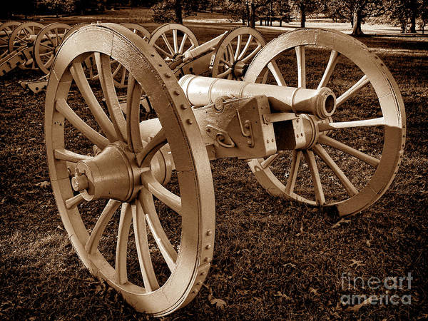 Wall Art - Photograph - Revolutionary Cannon by Olivier Le Queinec