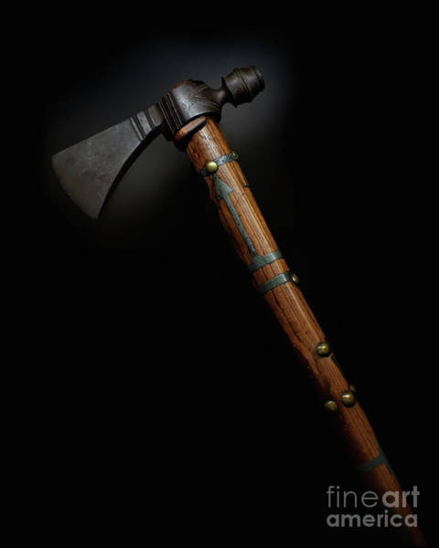 Photograph - Revolutionary Pipe Tomahawk by Mark Miller