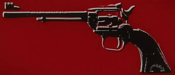 Target Practice Mixed Media - Revolver Pop Art by Dan Sproul