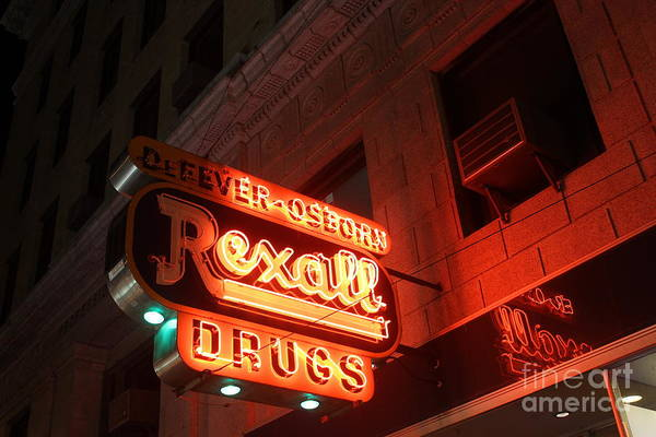 Photograph - Rexall Drugs by Jenny Revitz Soper