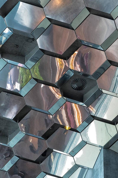 Photograph - Reykjavik Window Astract by Tom Singleton