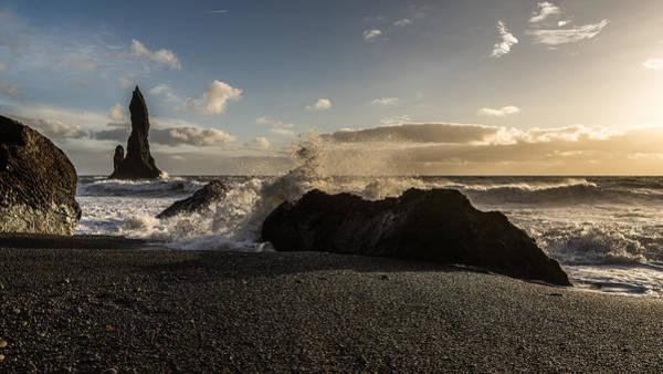 Photograph - Reynisdrangar by James Billings