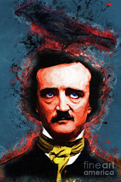 Photograph - Reynolds I Became Insane With Long Intervals Of Horrible Sanity Edgar Allan Poe by Wingsdomain Art and Photography