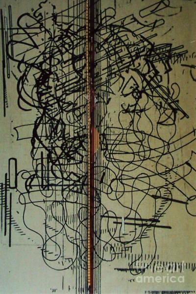 Drawing - Rfb0203 by Robert F Battles