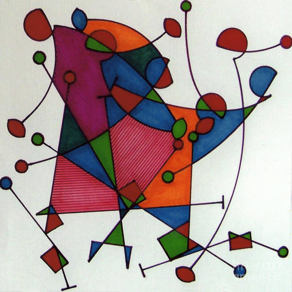 Drawing - Rfb0578 by Robert F Battles