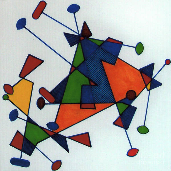 Drawing - Rfb0586 by Robert F Battles