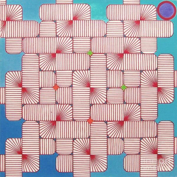 Rfb1006 Variation IIi Diagonal Art Print