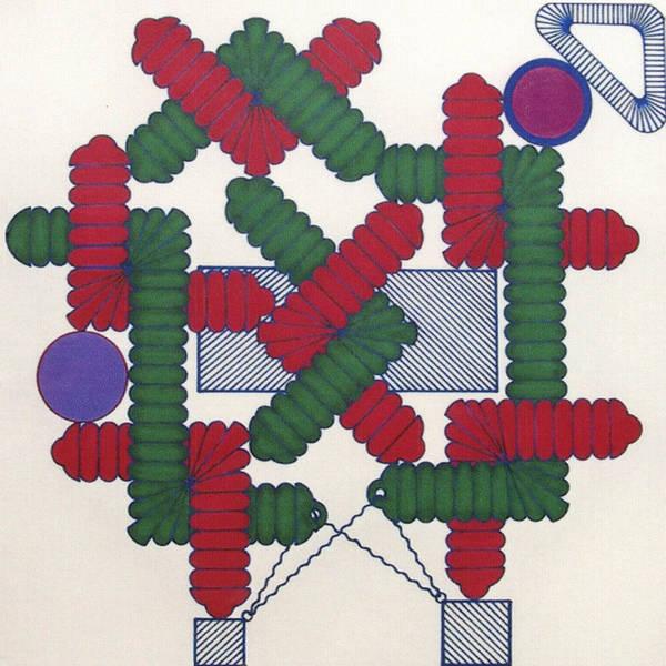Rfb1007 Diagonal Art Print