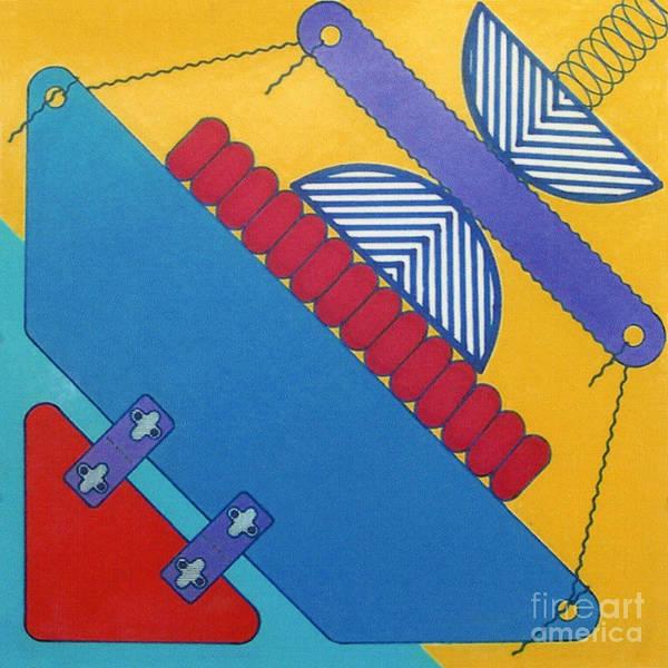 Drawing - Rfb1026 Diagonal by Robert F Battles