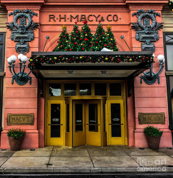 Photograph - R.h. Macy Store by Gary Keesler