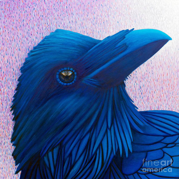 Wall Art - Painting - Rhapsody In Blue by Brian  Commerford