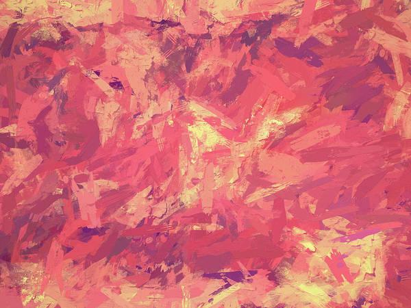 Digital Art - Rhapsody In Red by David King